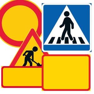 Liikennemerkkipohjat