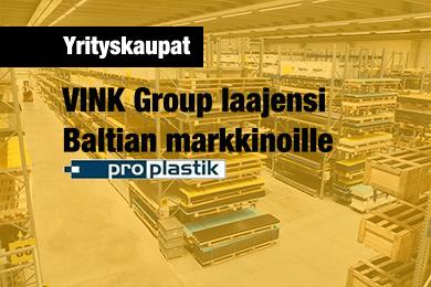 Vink  | Yritysosto Baltiassa 2019
