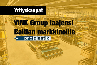 VINK Group ostaa PROPLASTK:in toiminnot Baltiassa